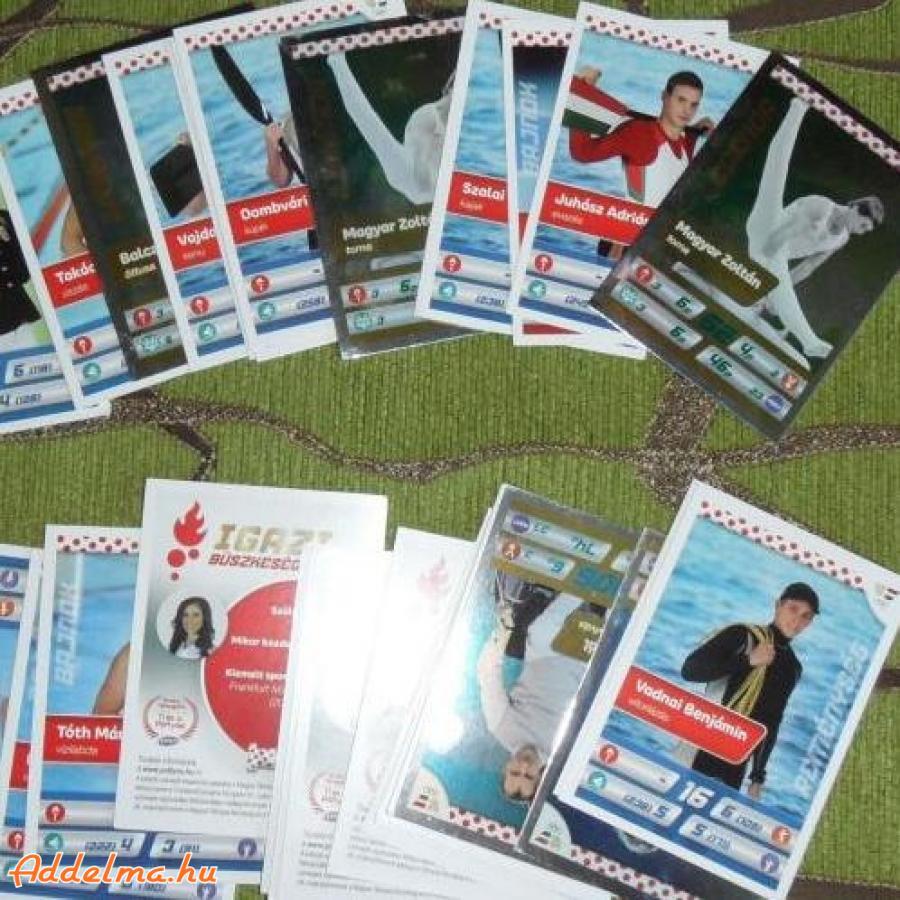 Igazi Büszkeségek - Szurkolj a Pöttyössel kártyák eladók