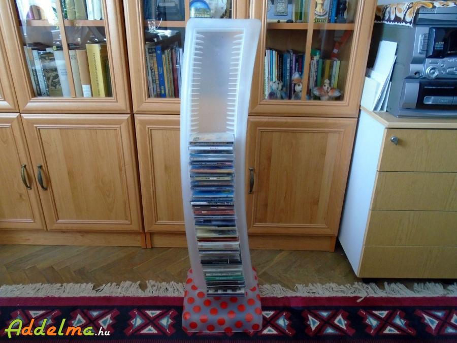 CD tartó torony