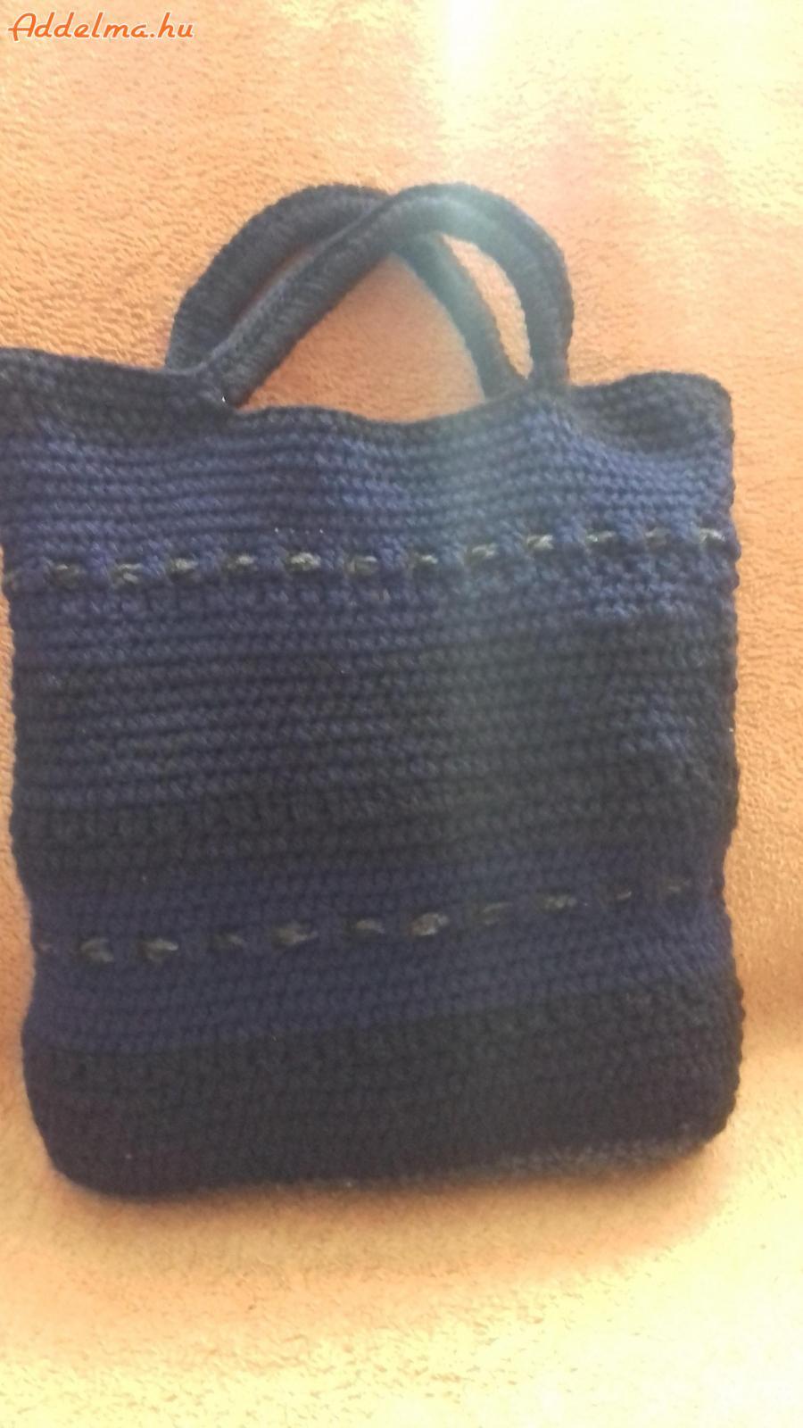 Egyedi, ÚJ, horgolt táska