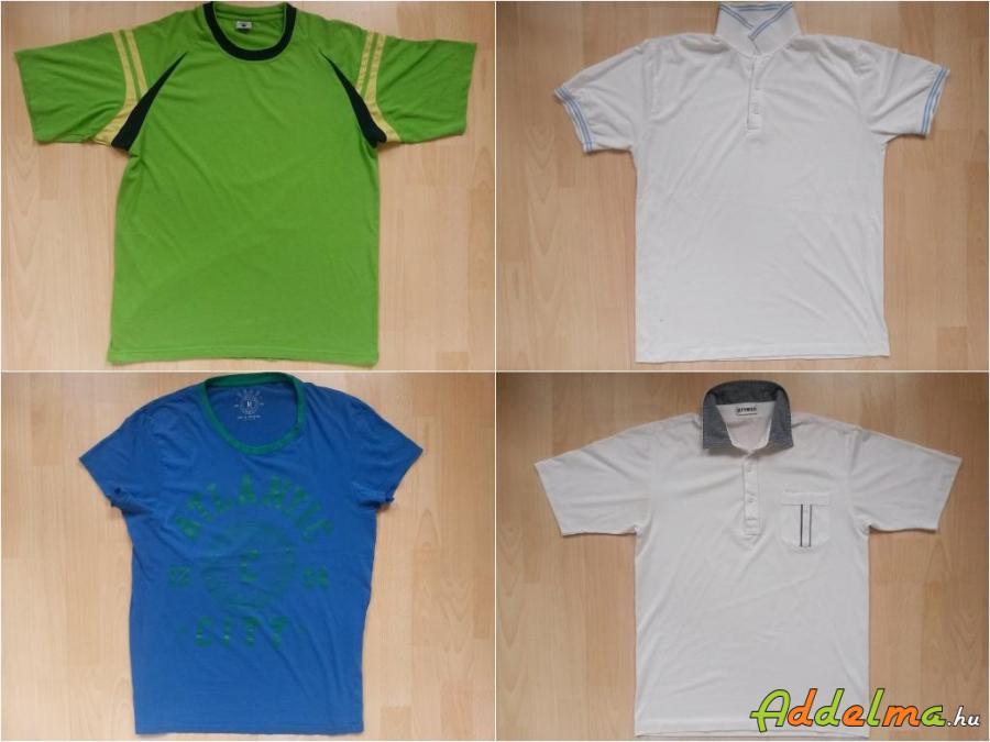 4db márkás férfi póló M-L