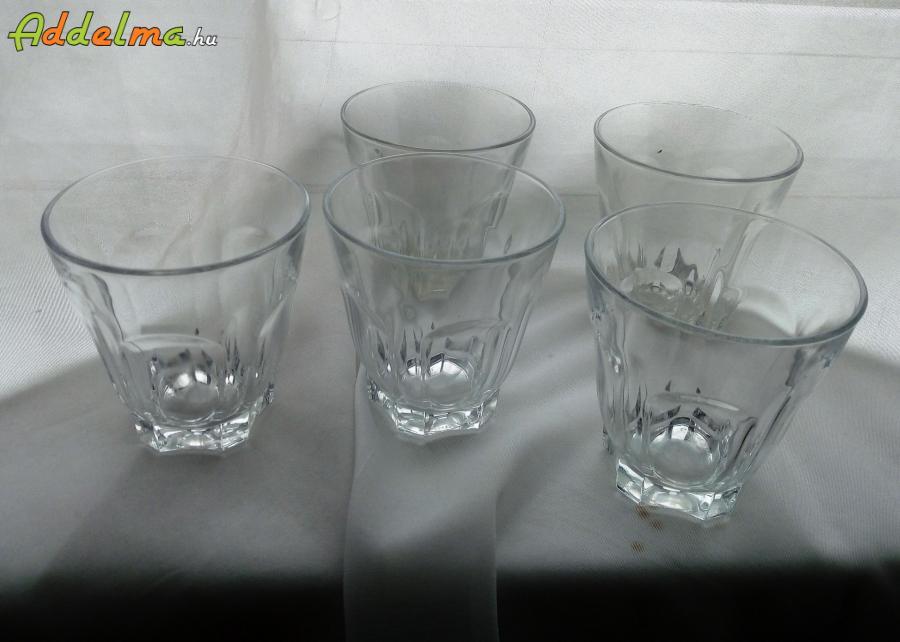 Üveg kávés poharak