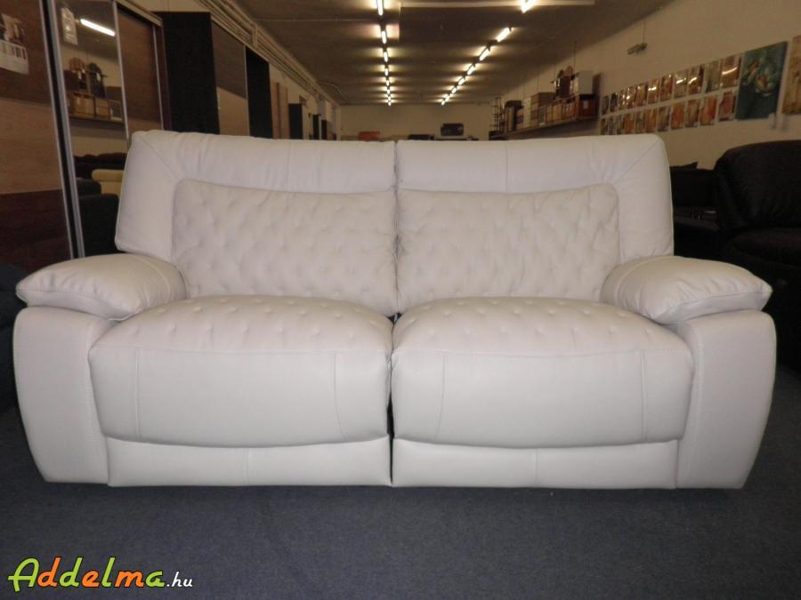 Softaly U205 fehér bőr ülőgarnitúra
