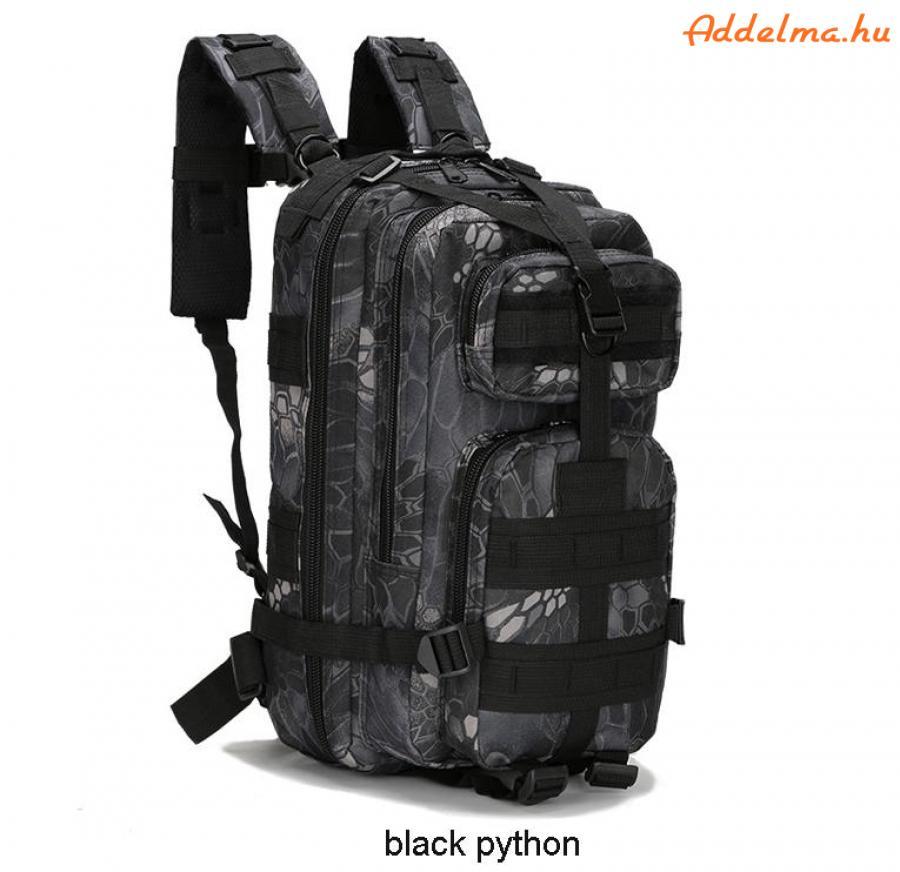 Black Python hátizsák