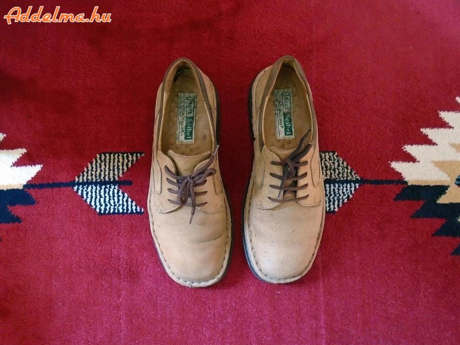 Josef Seibel barna nubuk cipő 42-es