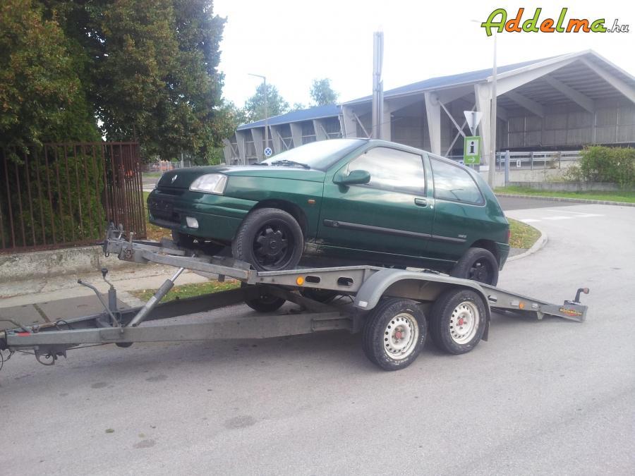 Autószállító-tréler bérbeadás Pécelen