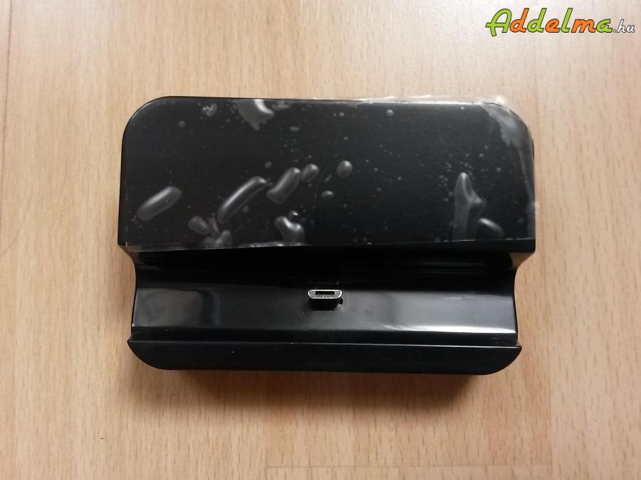 Dokkoló töltő 5V 1A Usb mobilokhoz (új)