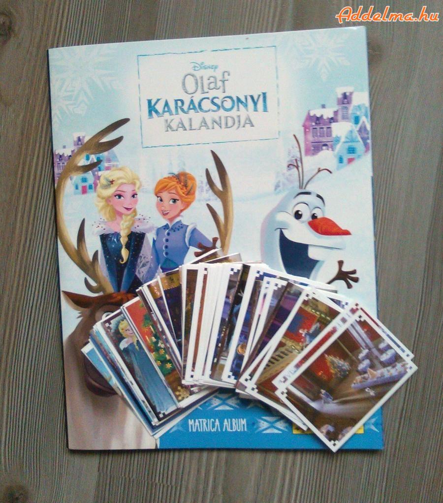 Frozen (Jégvarázs)-Olaf karácsonyi kalandjai album eladó