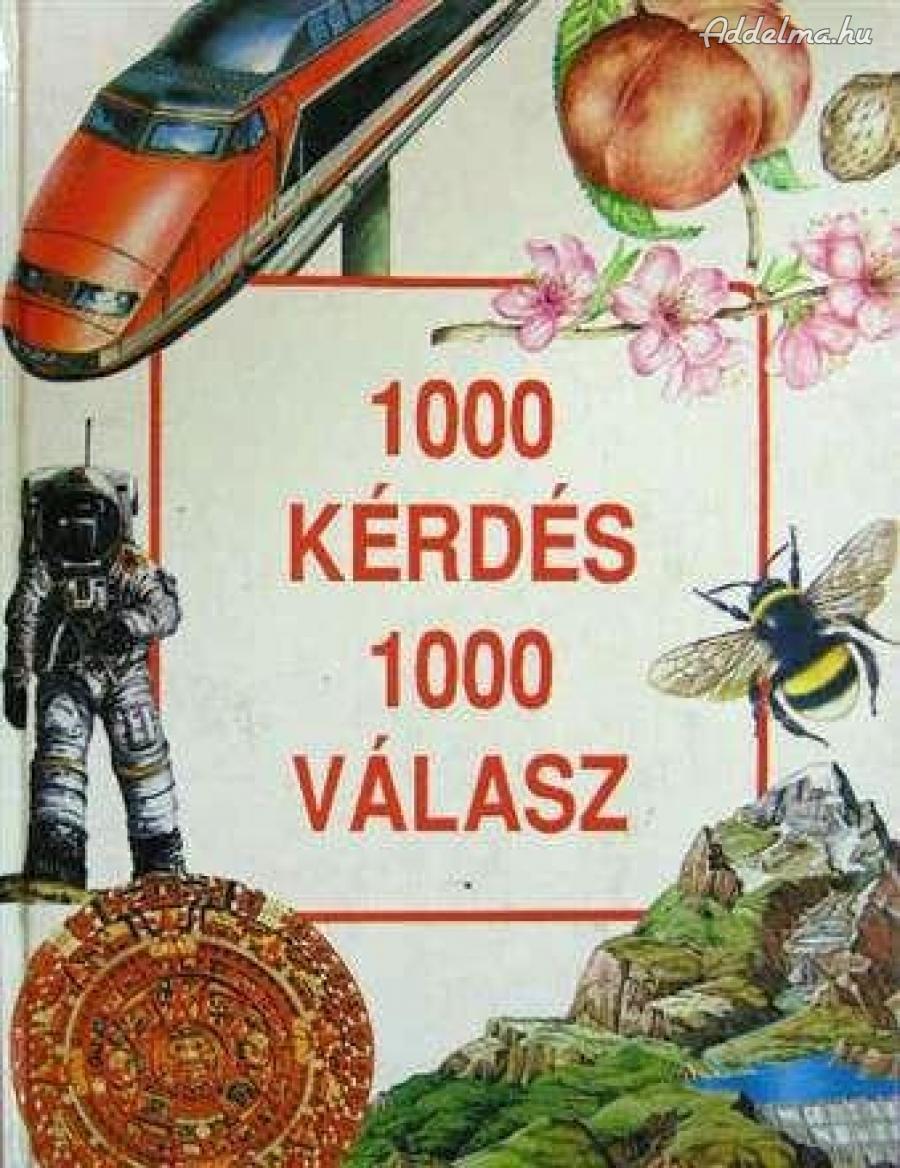 1000 kérdés 1000 válasz című könyv eladó
