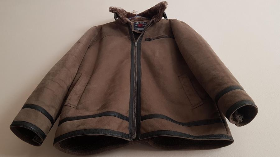 Afeil férfi kabát irha bunda L Budapest, XIII. kerület