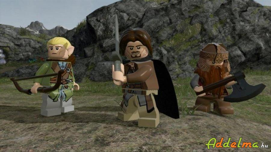 LEGO Lord of the Rings - Xbox360 - Eredeti DVD