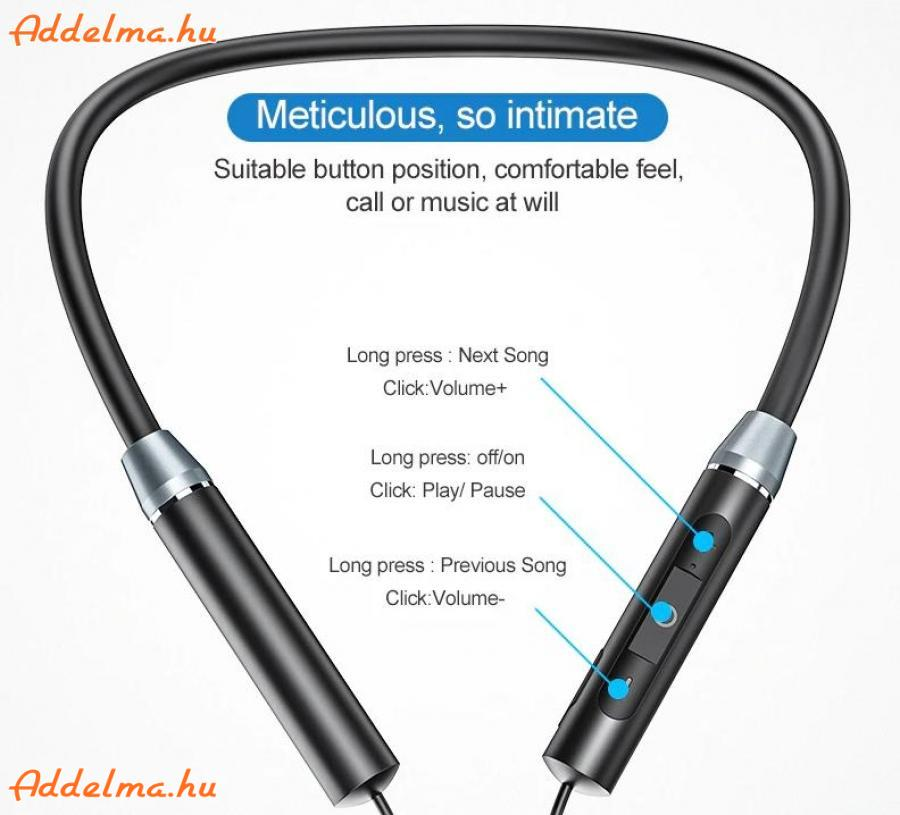 Rock Bluetooth 5.0 Strong Bass Headset fülhallgató