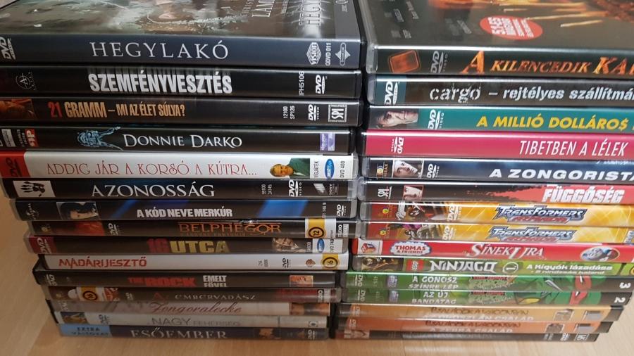 Eladó DVD filmek (akció kaland sci-fi mese stb)