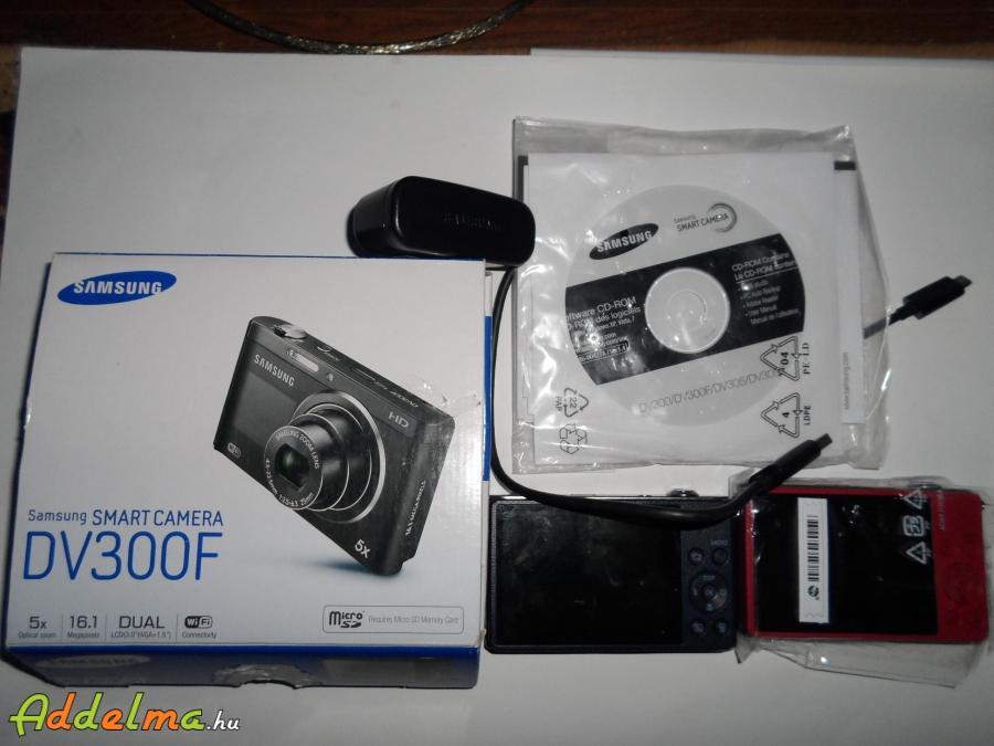 2db Samsung DV300F wifis digitális fényképező