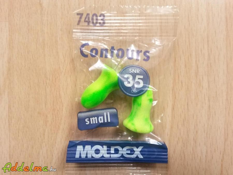 Moldex Contours zajvédő füldugó (SNR 35DB) - 10pár