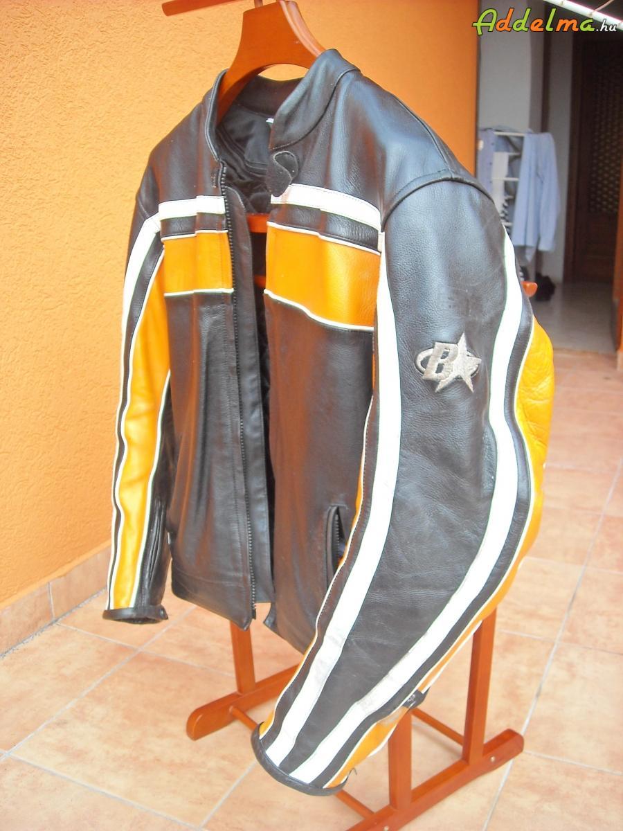 B-star motoros bőrkabát 21000Ft