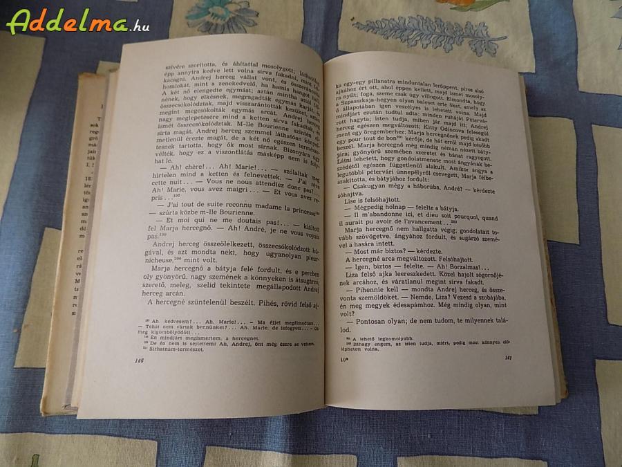 Lev Tolsztoj: Háború és békéje I-IV (1965)