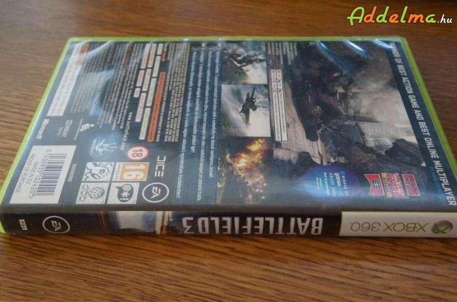 Battlefield 3 Limited - Xbox360 - Eredeti DVD - 2db DVD