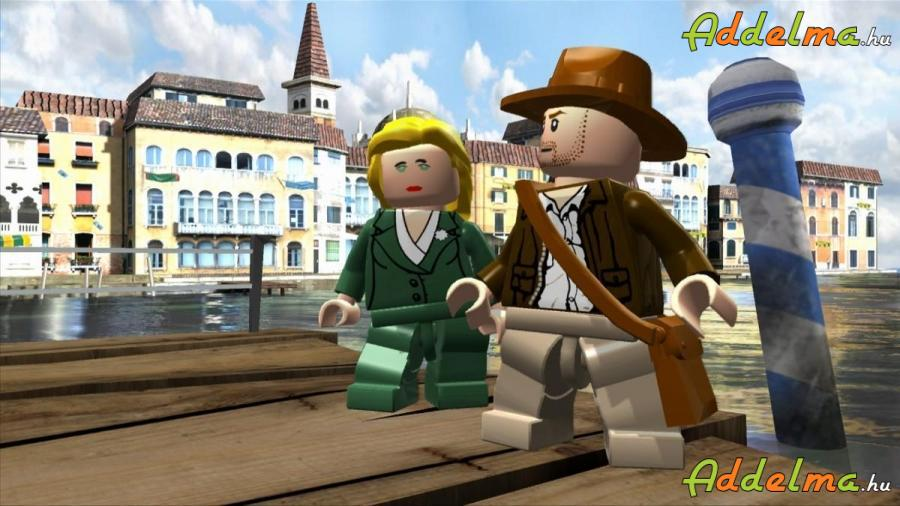 LEGO Indiana Jones Xbox360 - Eredeti DVD