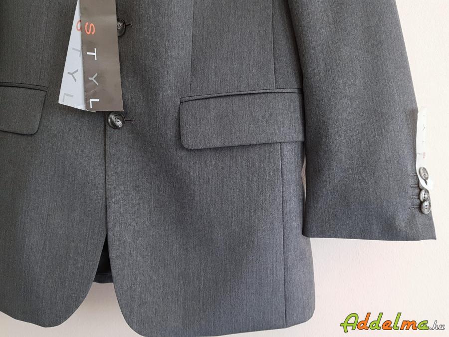 Becker-Styl 100% gyapjú férfi öltöny