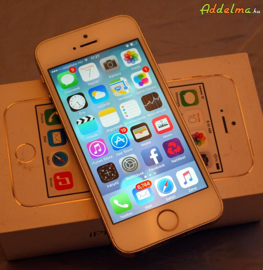 Iphone 5s Gold 16GB Független