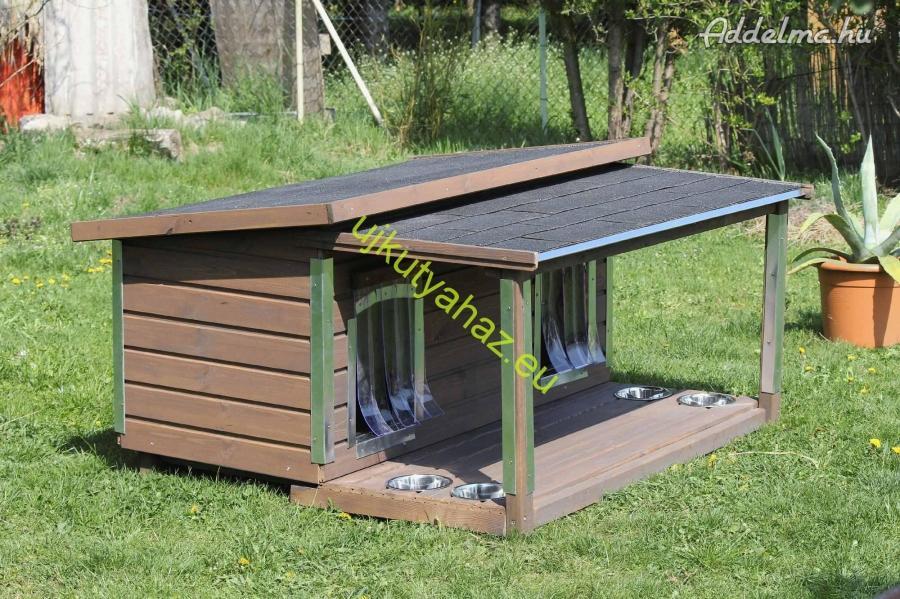 70x130 dupla kutyaház