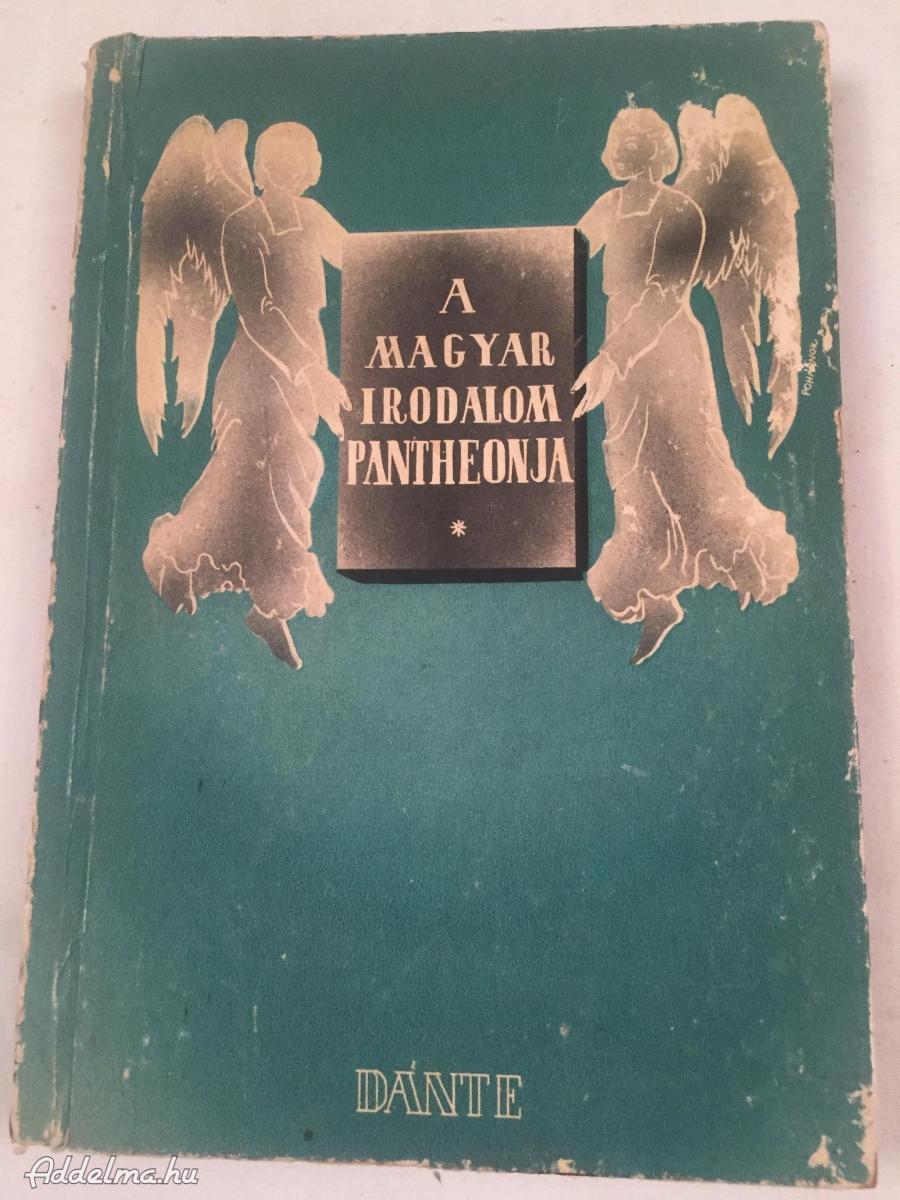 A Magyar Irodalom Pantheonja 1941-ben kiadott könyv