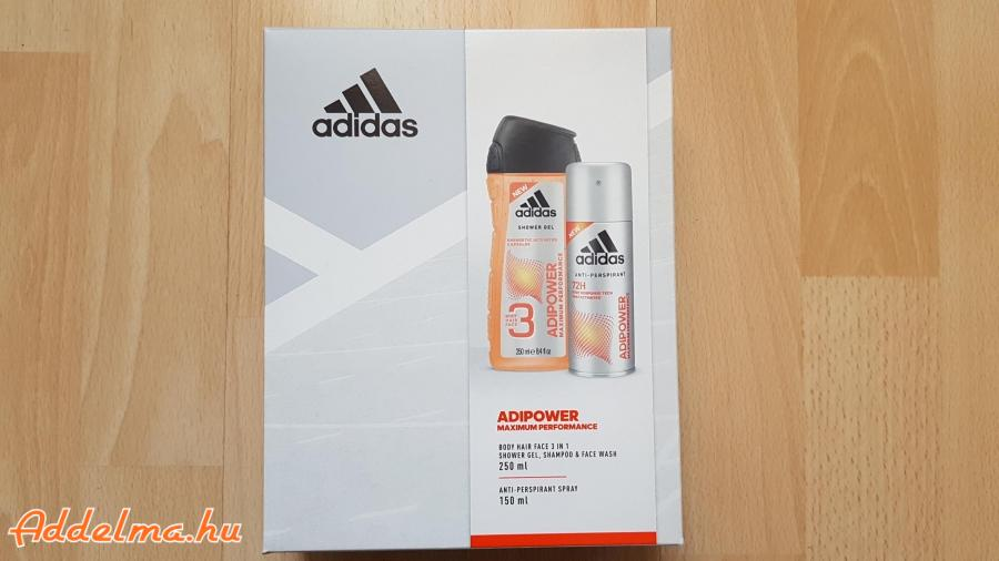Adidas Adipower Ajándékcsomag 3in1 Tusfürdő + Dezodor