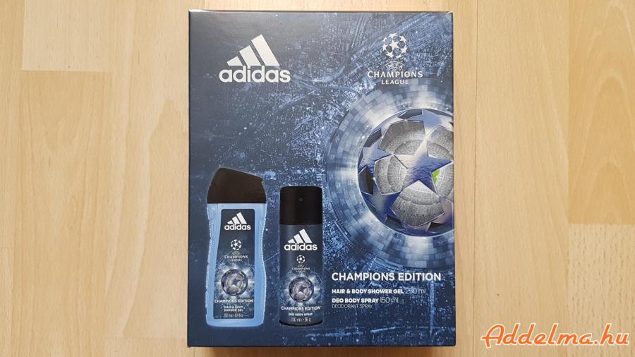 Adidas Champions Edition Ajándékcsomag Tusfürdő Dezodor
