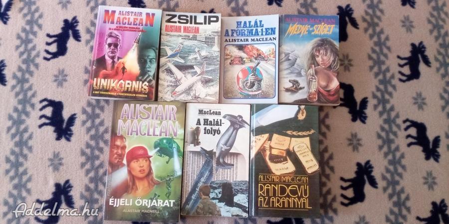 Alistair Maclean könyvek