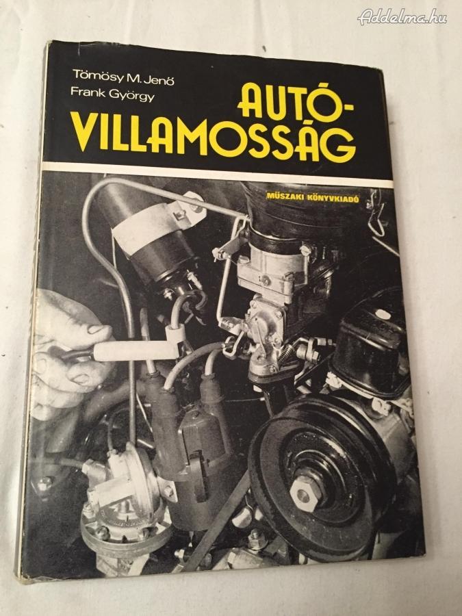 Autóvillamosság könyv
