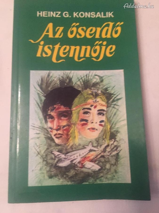 Az őserdő Istennője című könyv