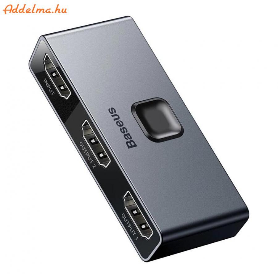 Baseus HDMI Switch 4K 60Hz Bi-Direction HDMI Elosztó Switcher