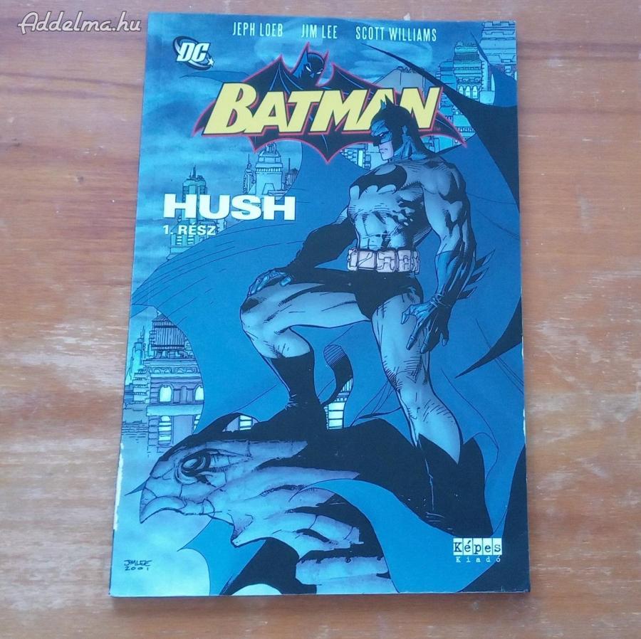 Batman Hush 1.rész kötet