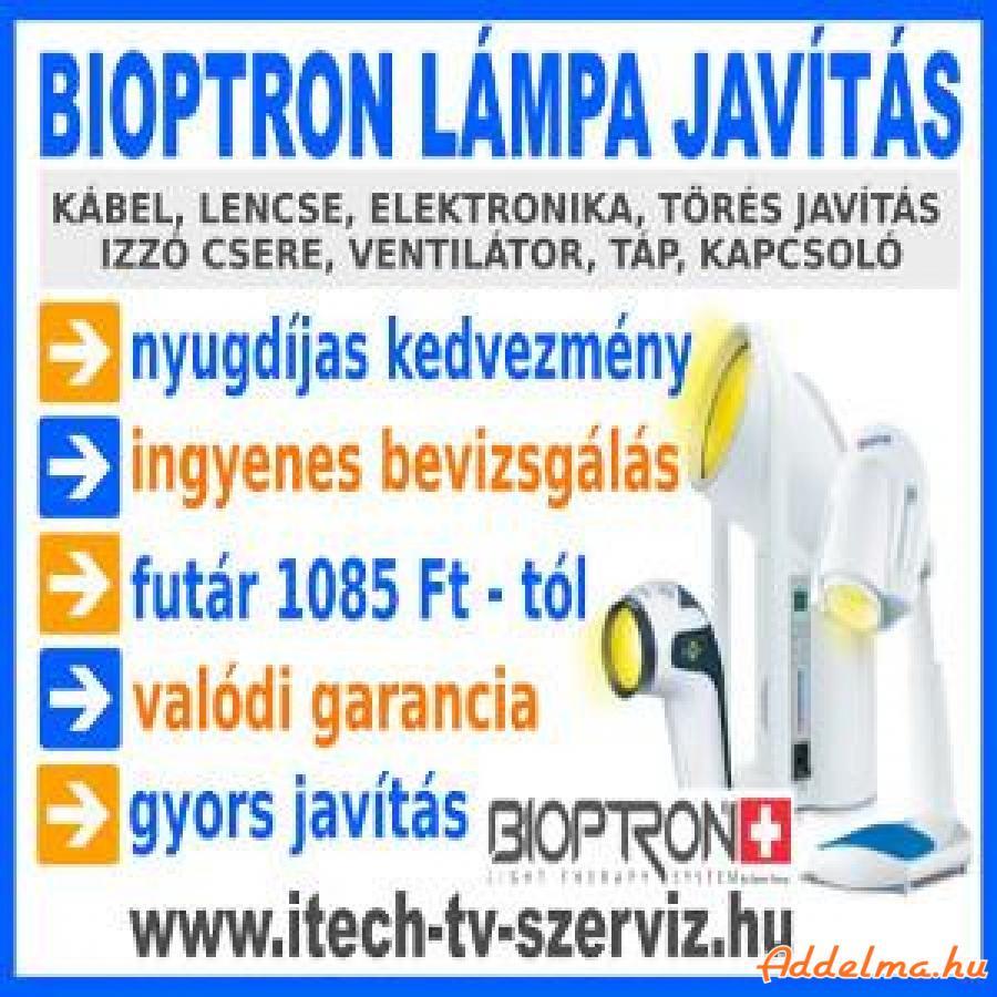 Bioptron lámpa szerviz valódi garanciával, nyugdíjas kedvezmény
