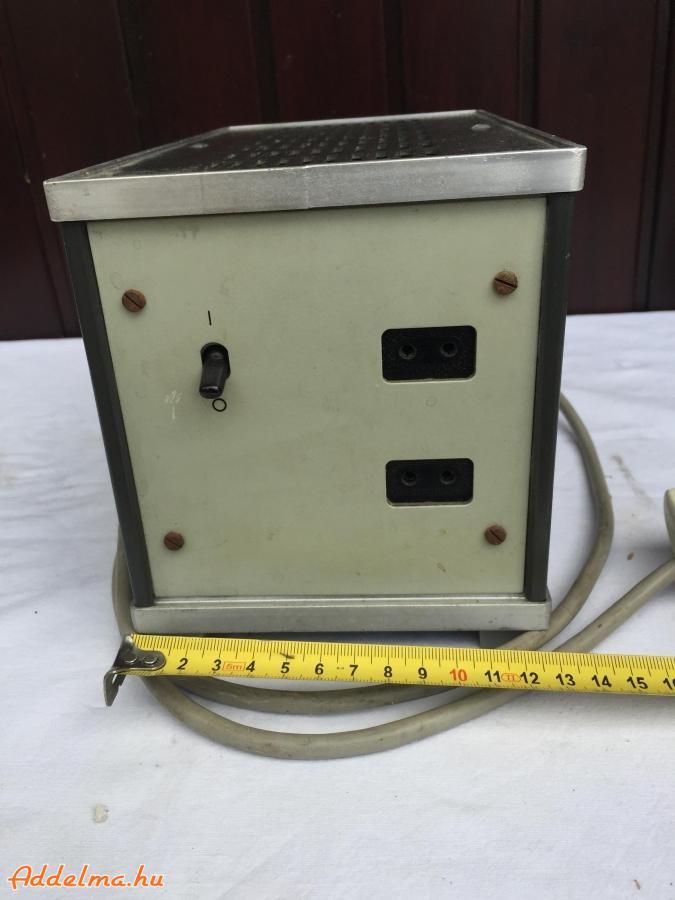 Biztonsági transzformátor 2X6V-os