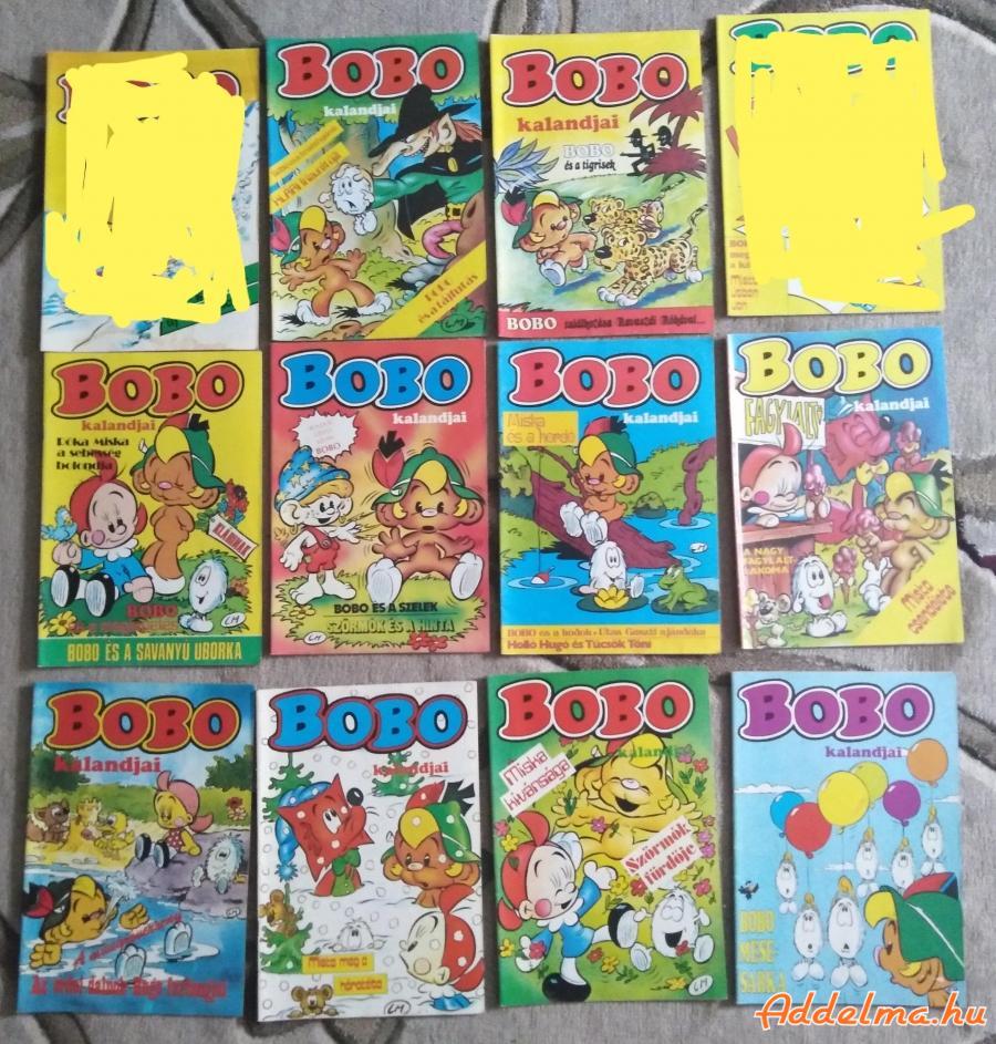 Bobo kalandjai képregény eladó