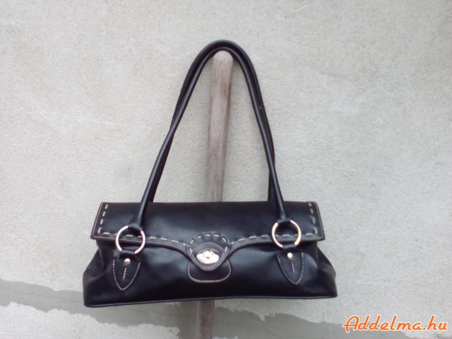 BULAGGI Fekete kétfülű kézi táska