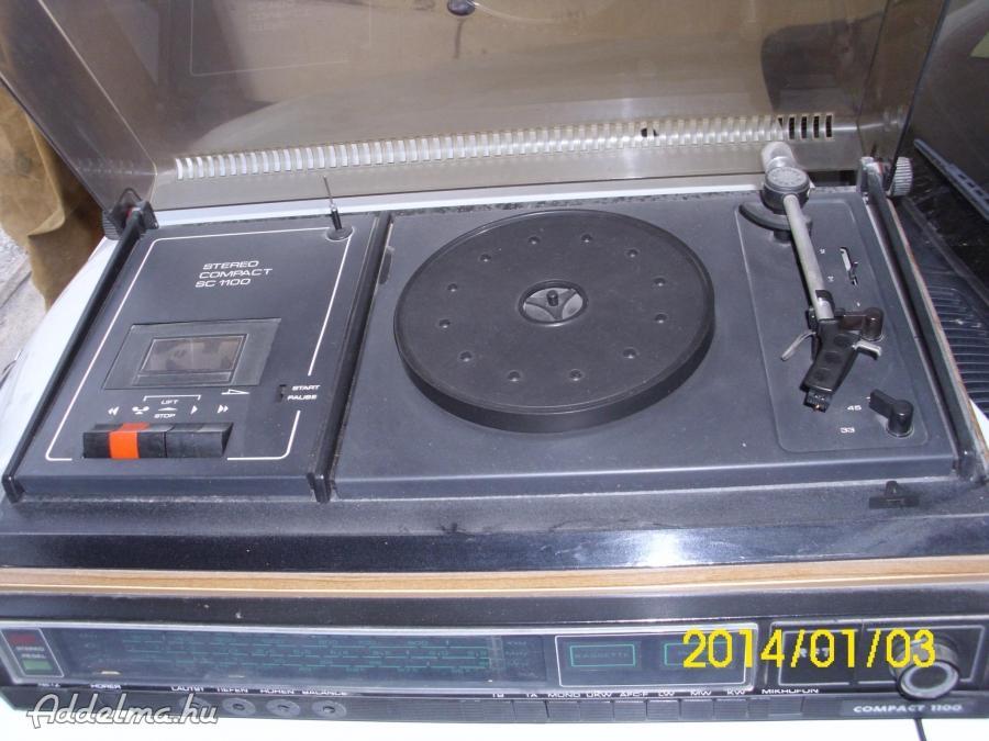 Compakt 1100 rádiós szett
