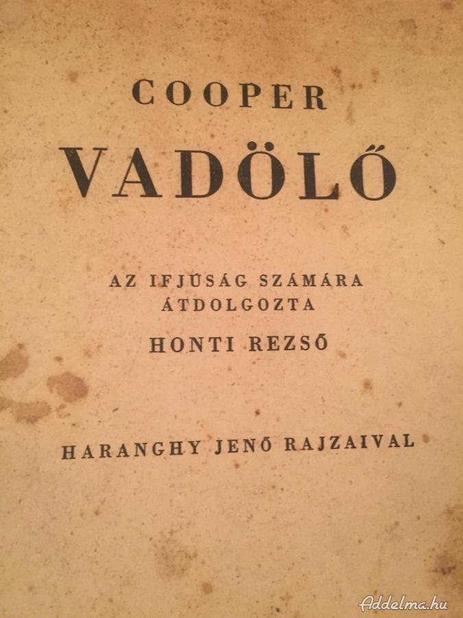 Cooper: Vadölő 1960