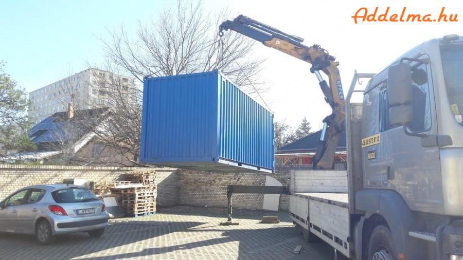 Daruzás kcr emelés Debrecen raktárkonténer konténer szállítás