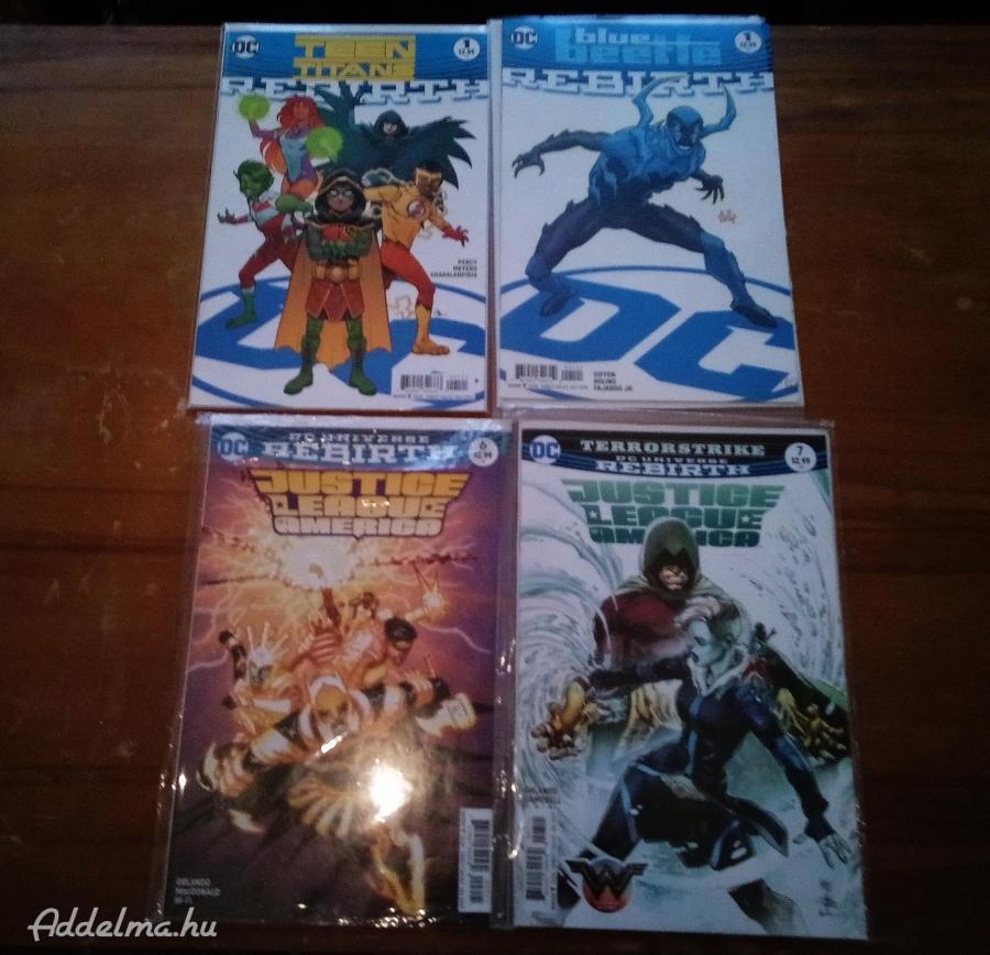 DC Rebirth képregények