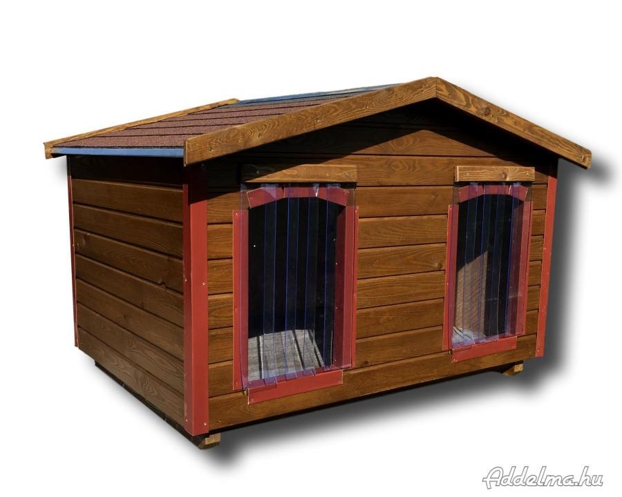 Dupla kutyaház fűtéssel kérhető