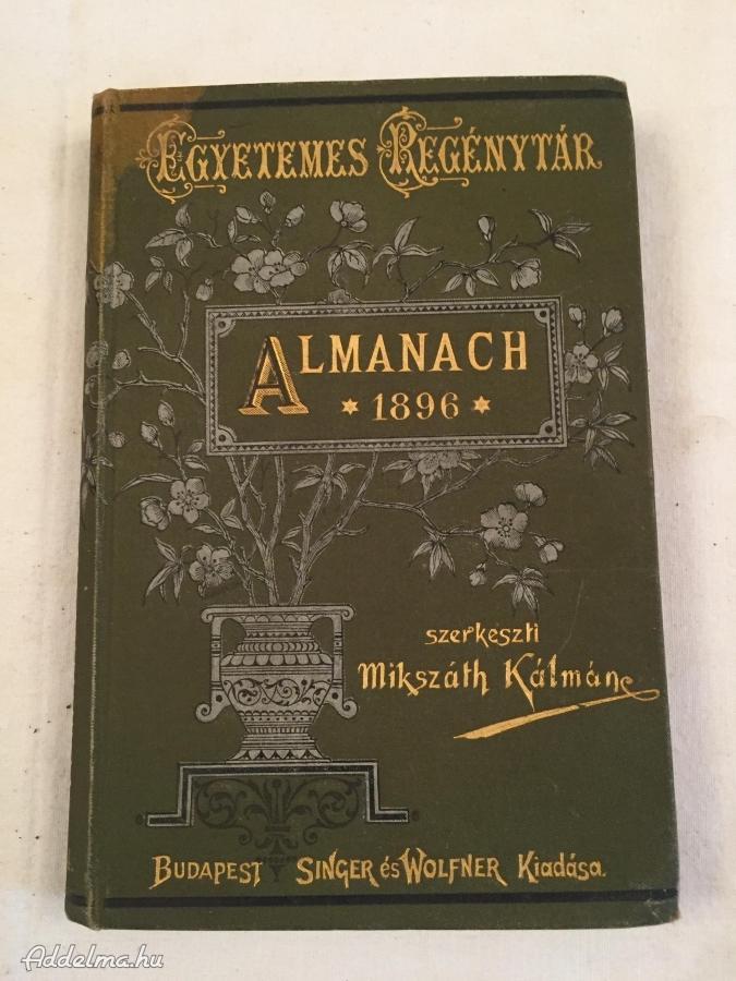 Egyetemes regénytár:Almanach 1896
