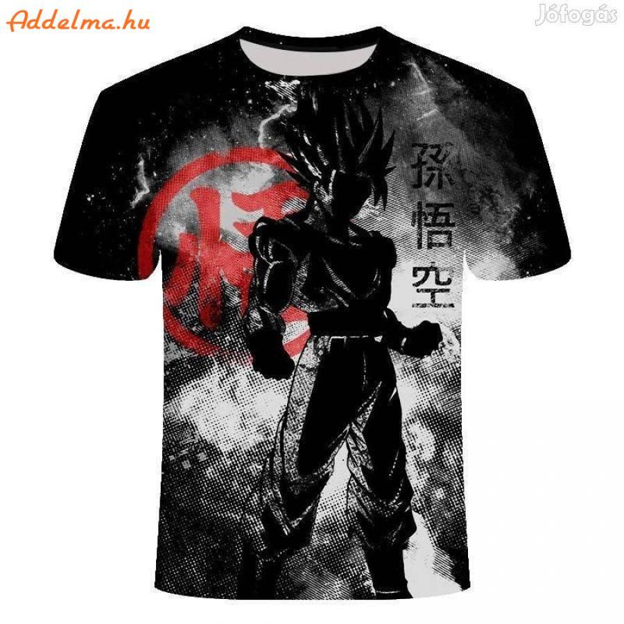 Eladó Dragon Ball Z. 3 D Nyomtatással Készült XXL Új Póló !