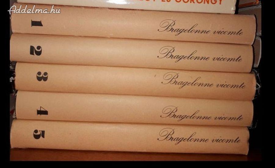 Eladók A. Dumas könyvek!