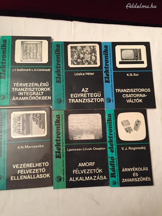 Elektronikai Szakkönyvek