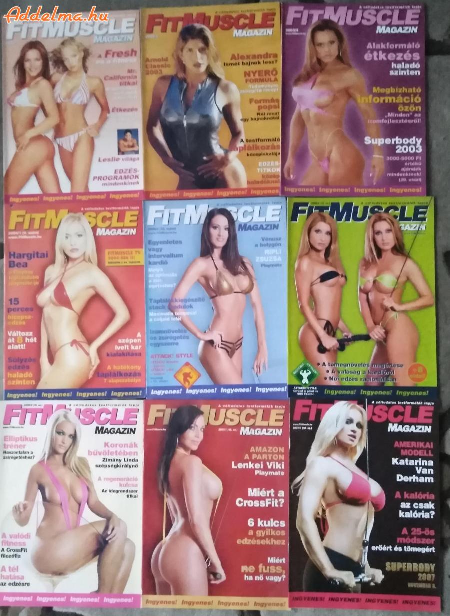 Fit Muscle magazinok eladók