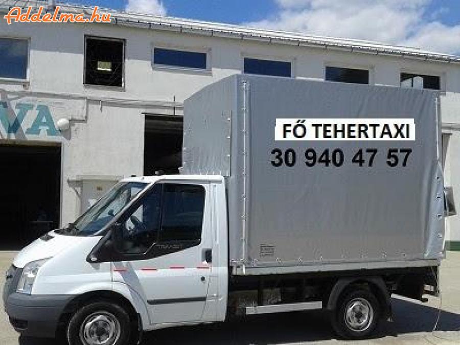 Fő Tehertaxi azonnali szállítás, fuvarozás, költözés Budapest