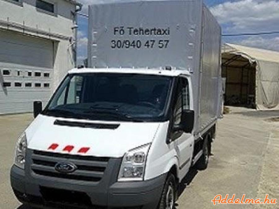 Fő-Tehertaxi azonnali teherfuvarozás, kisebb költöztetés