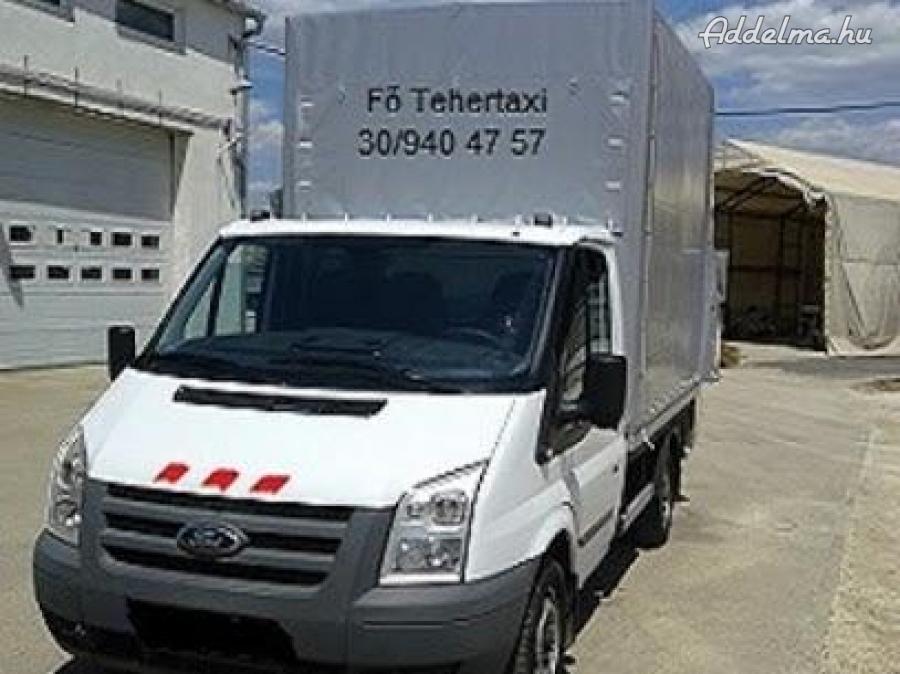 Fő- Tehertaxi szállítás, költöztetés kisteherautóval